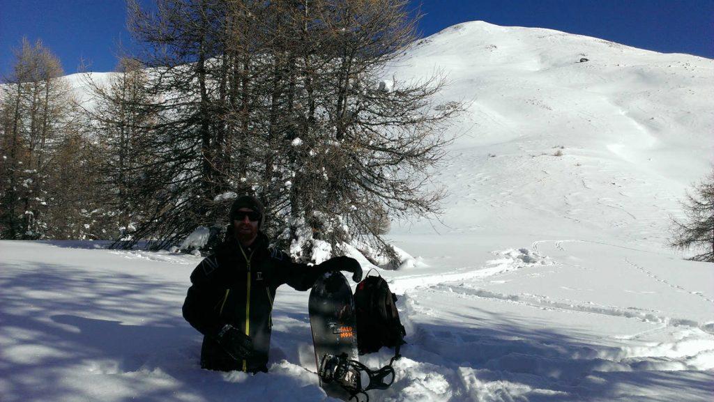 moniteur snowboard backcountry mtb