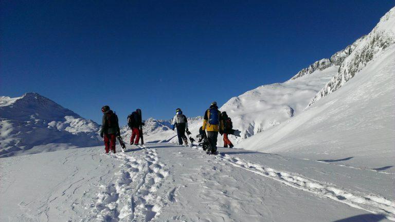 snowboard camp queyras