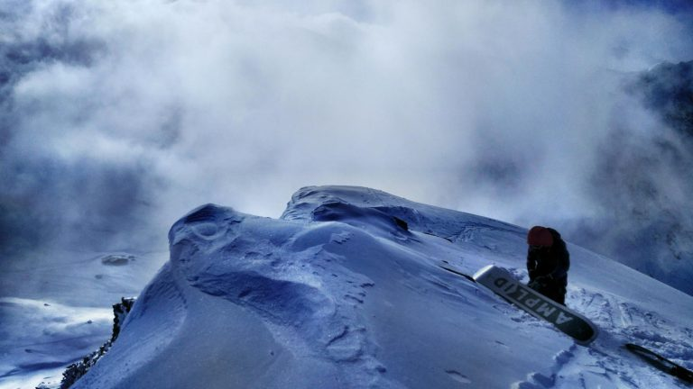 snowboar camp queyras